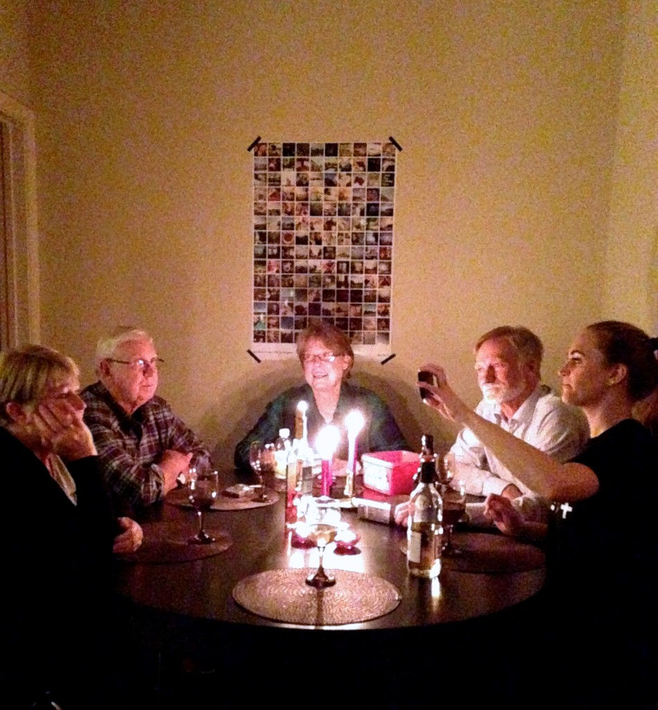 family table solstice christmas