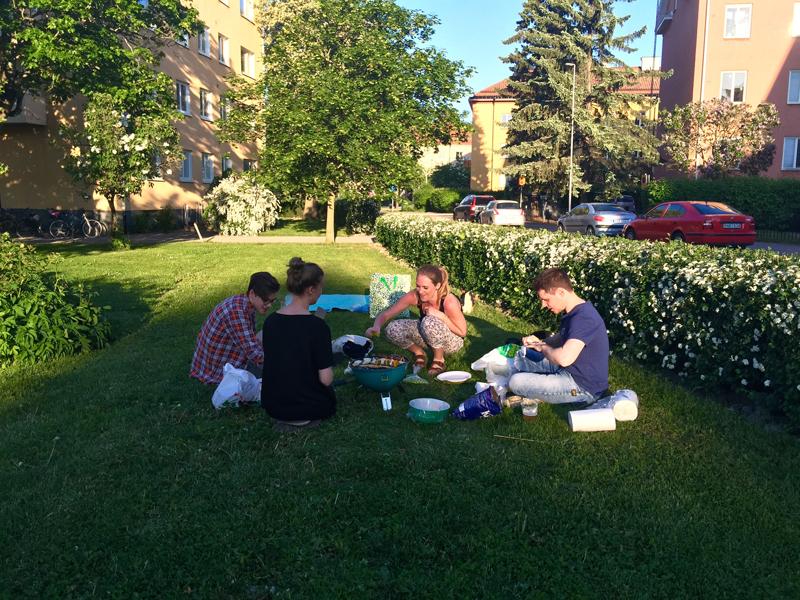 bbq-picnic-outside-friends-uppsala