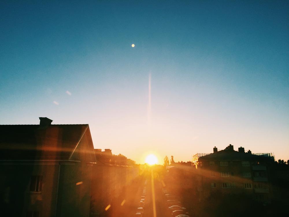 sunset-sunshine