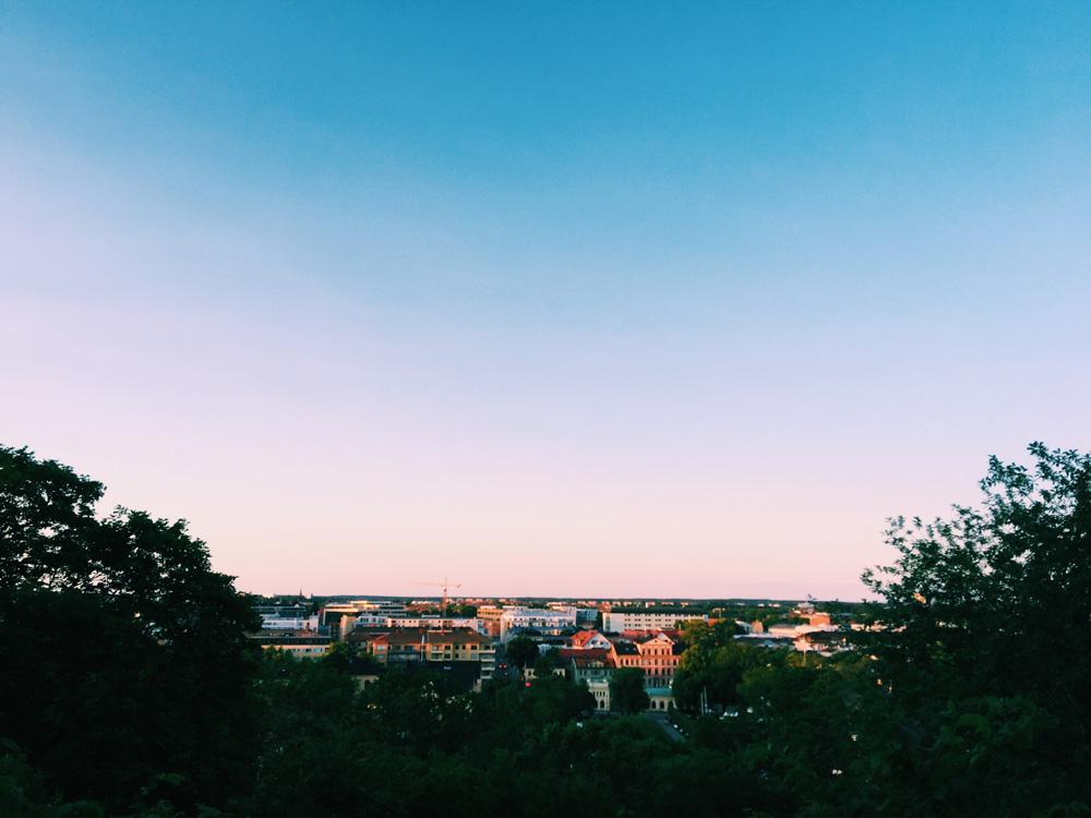 sunset-uppsala-view
