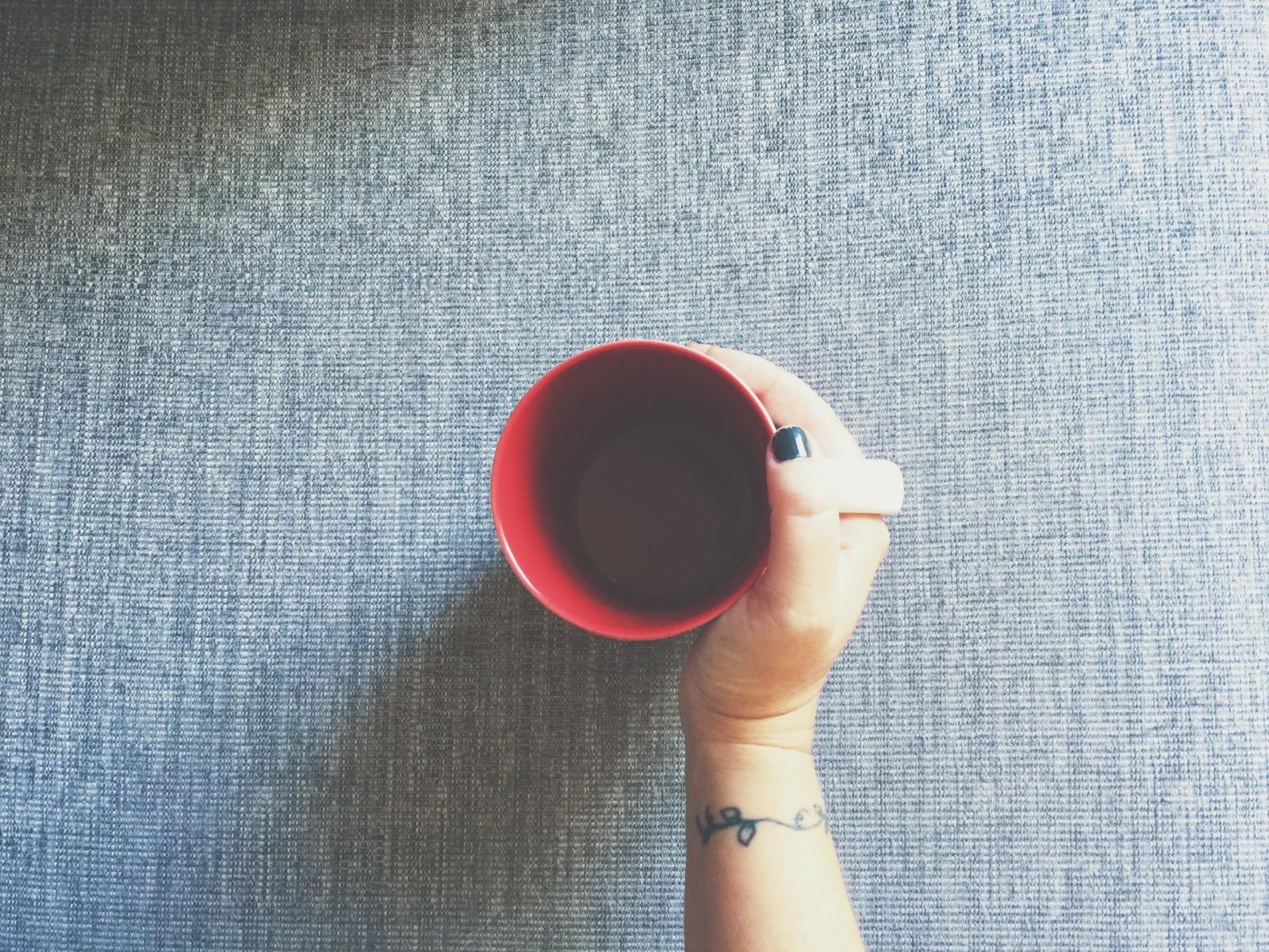 me cup of coffee tattoo vine