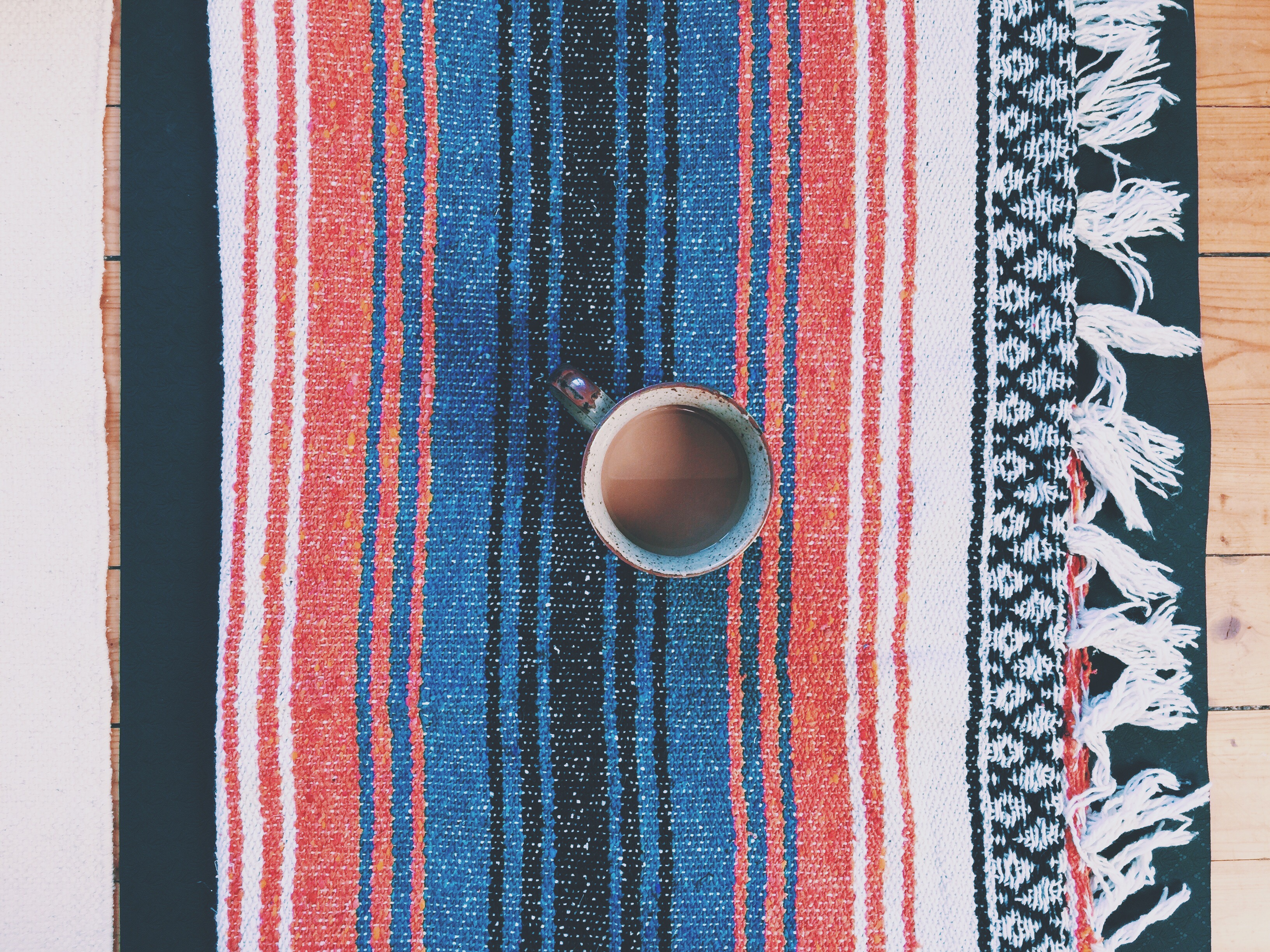 meditate mexican blanket