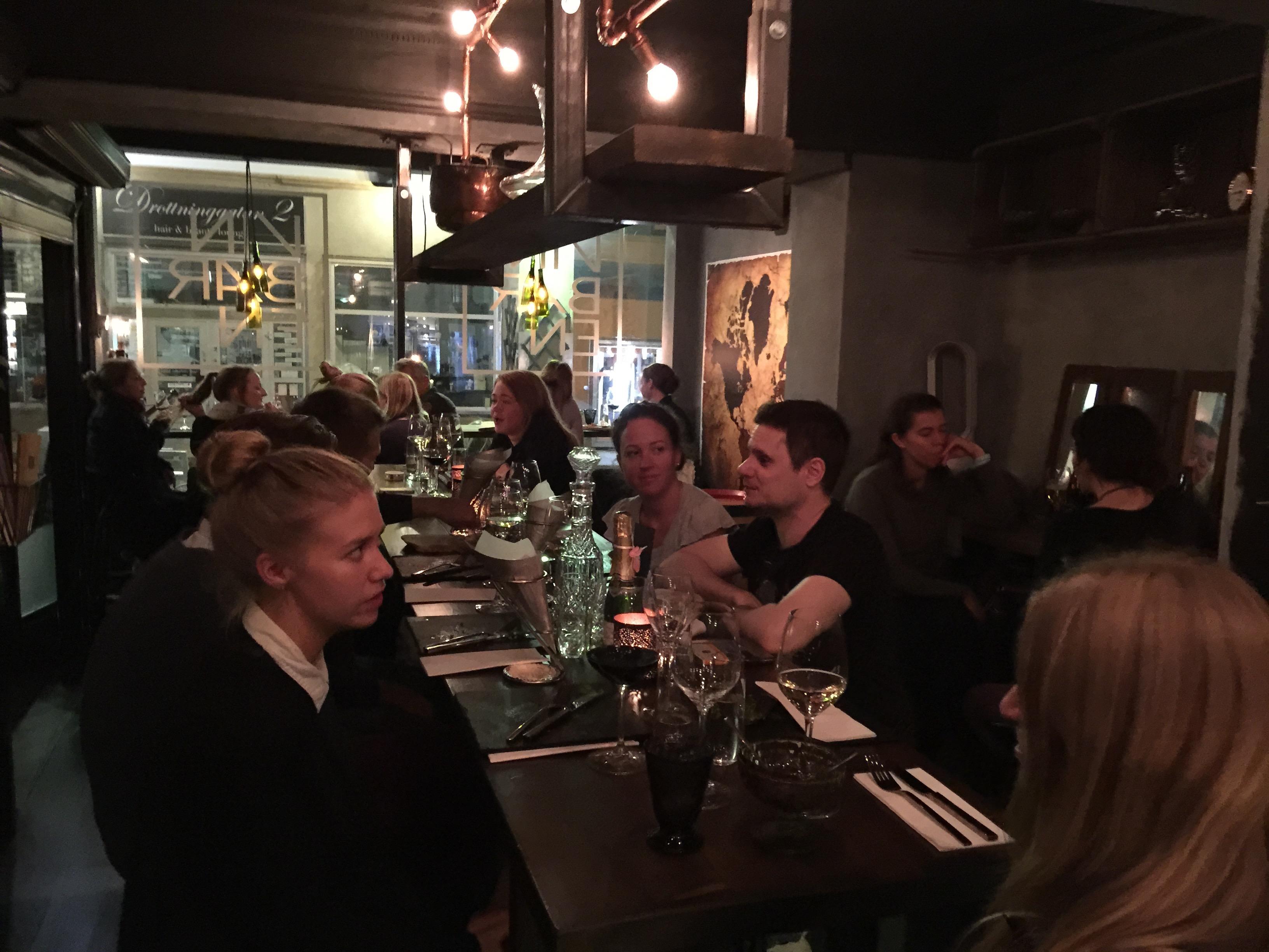 wine bar family birthday