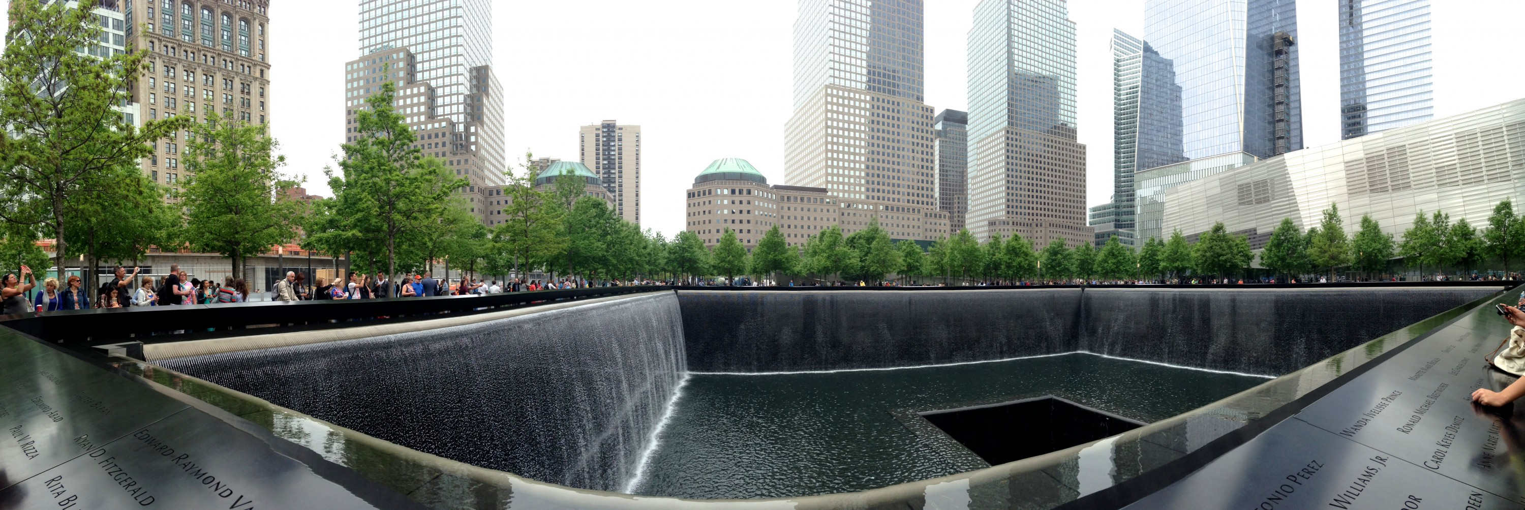 september 11 memorial nyc panorama