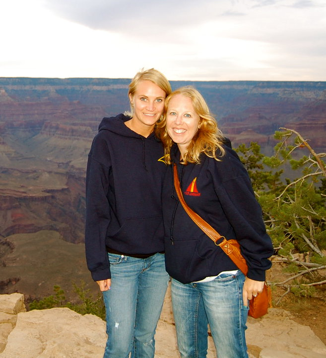 lina me arizona grand canyon honeymoon