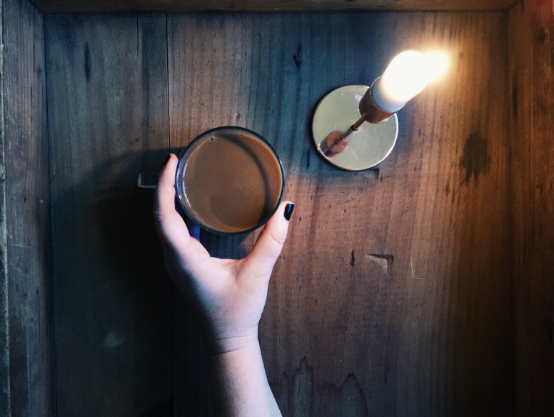 coffee candle me