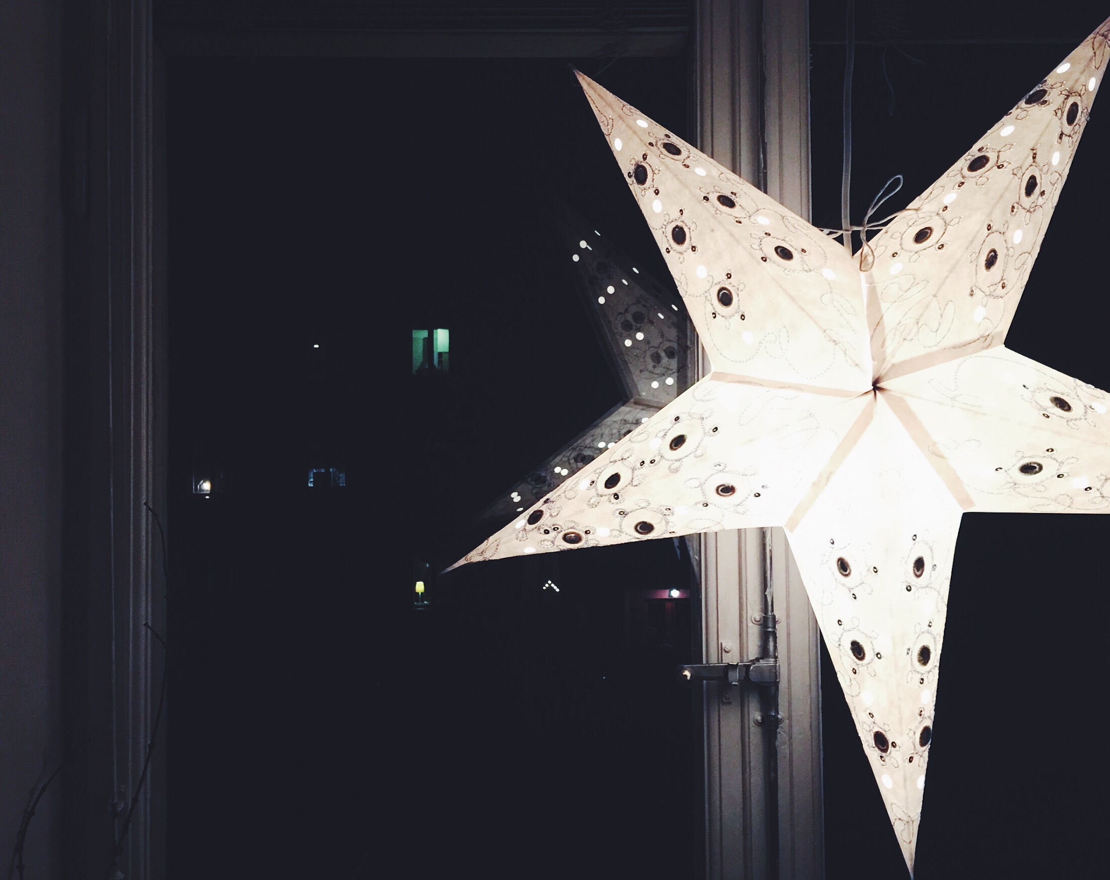 star advent window