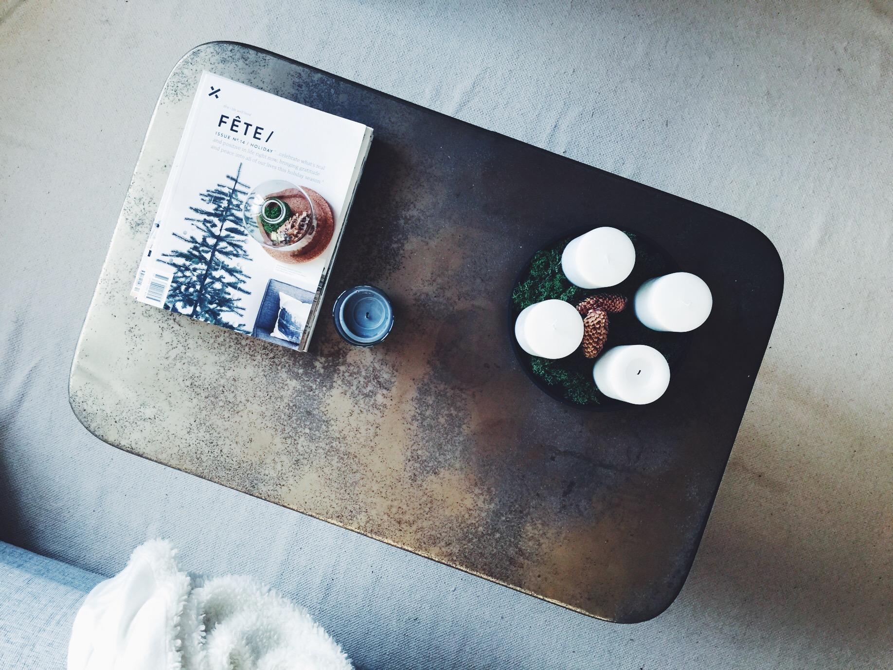 home coffee table christmas