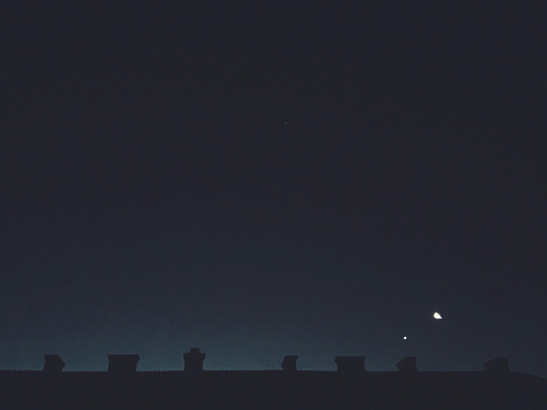 dark morning star moon