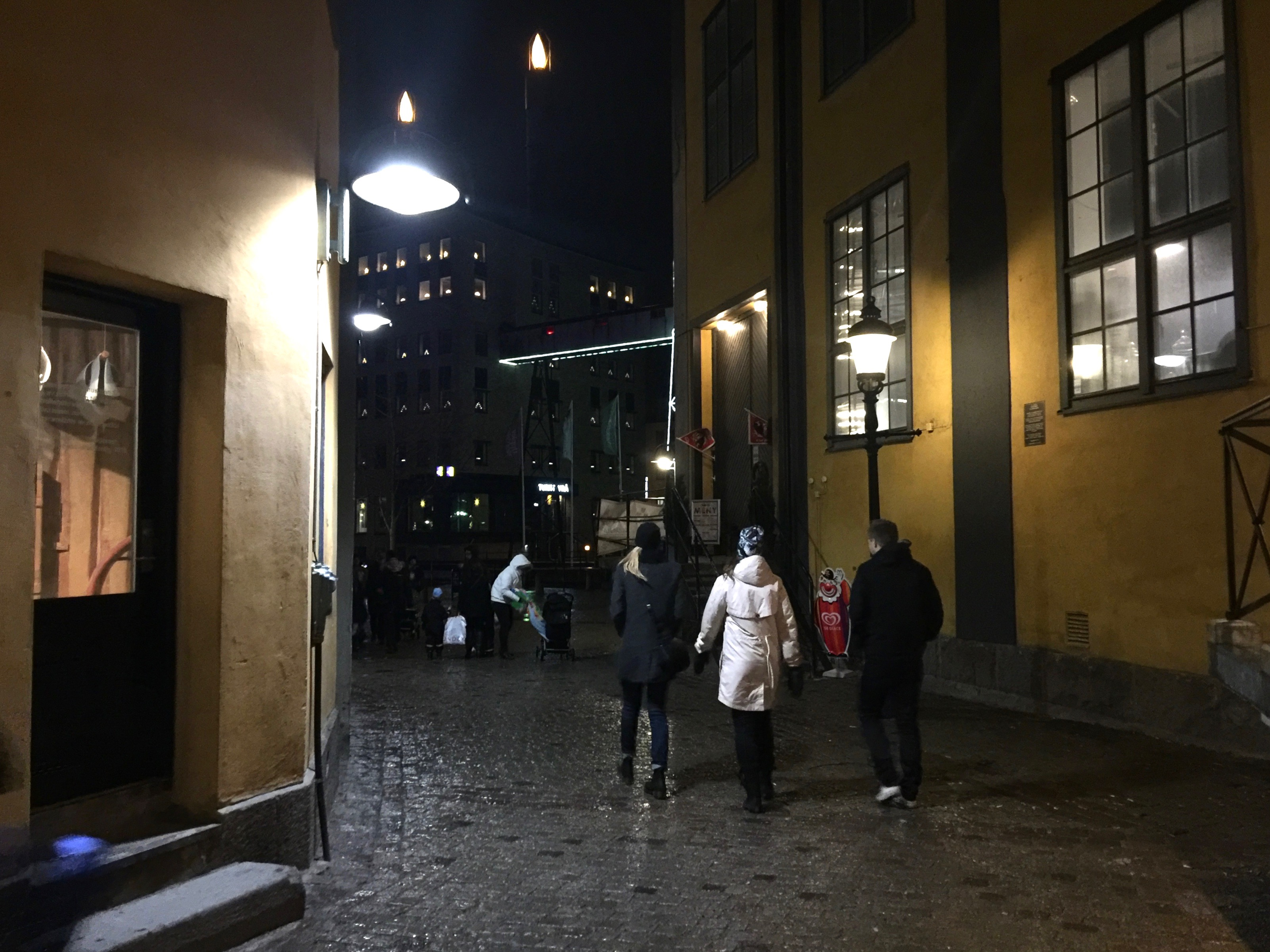 christmas lights walk norrköping