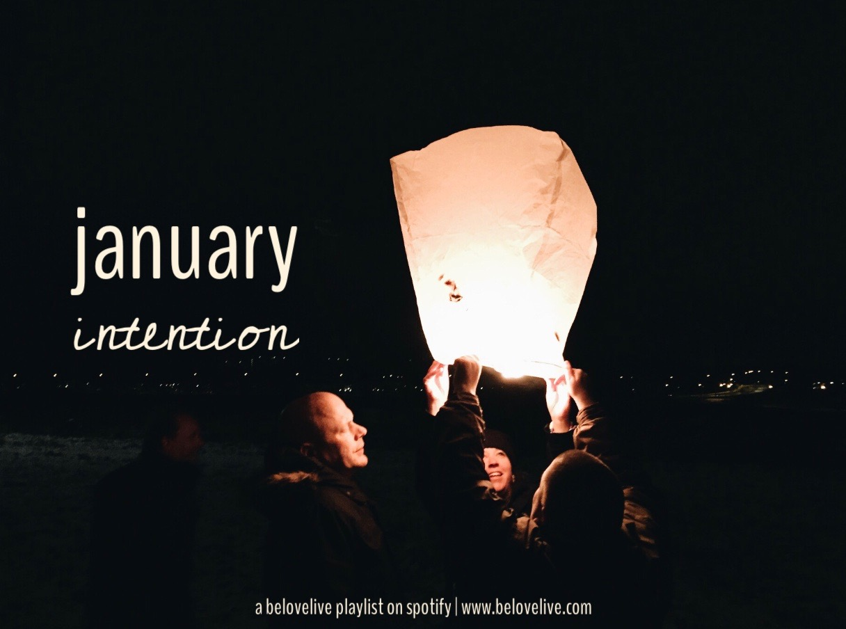 intention lantern january evolve