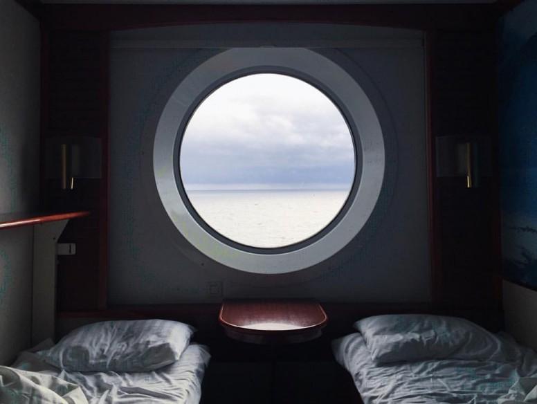 cruise cabin ocean sea