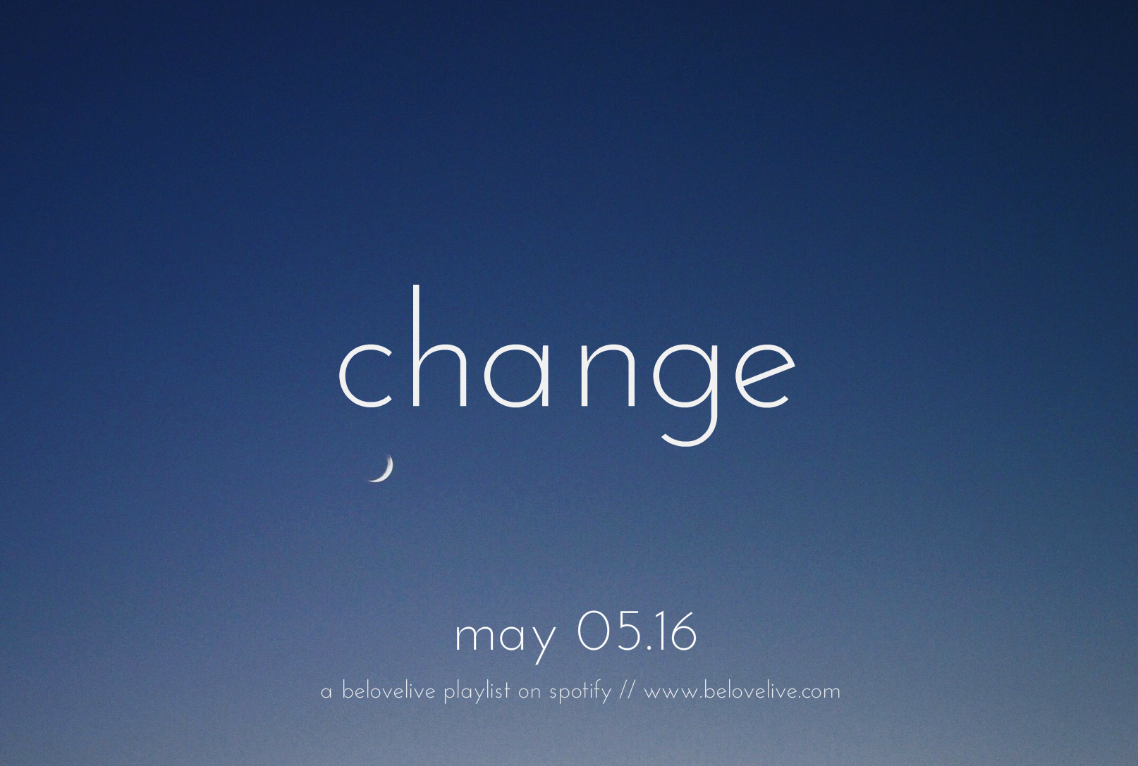 change may playlist