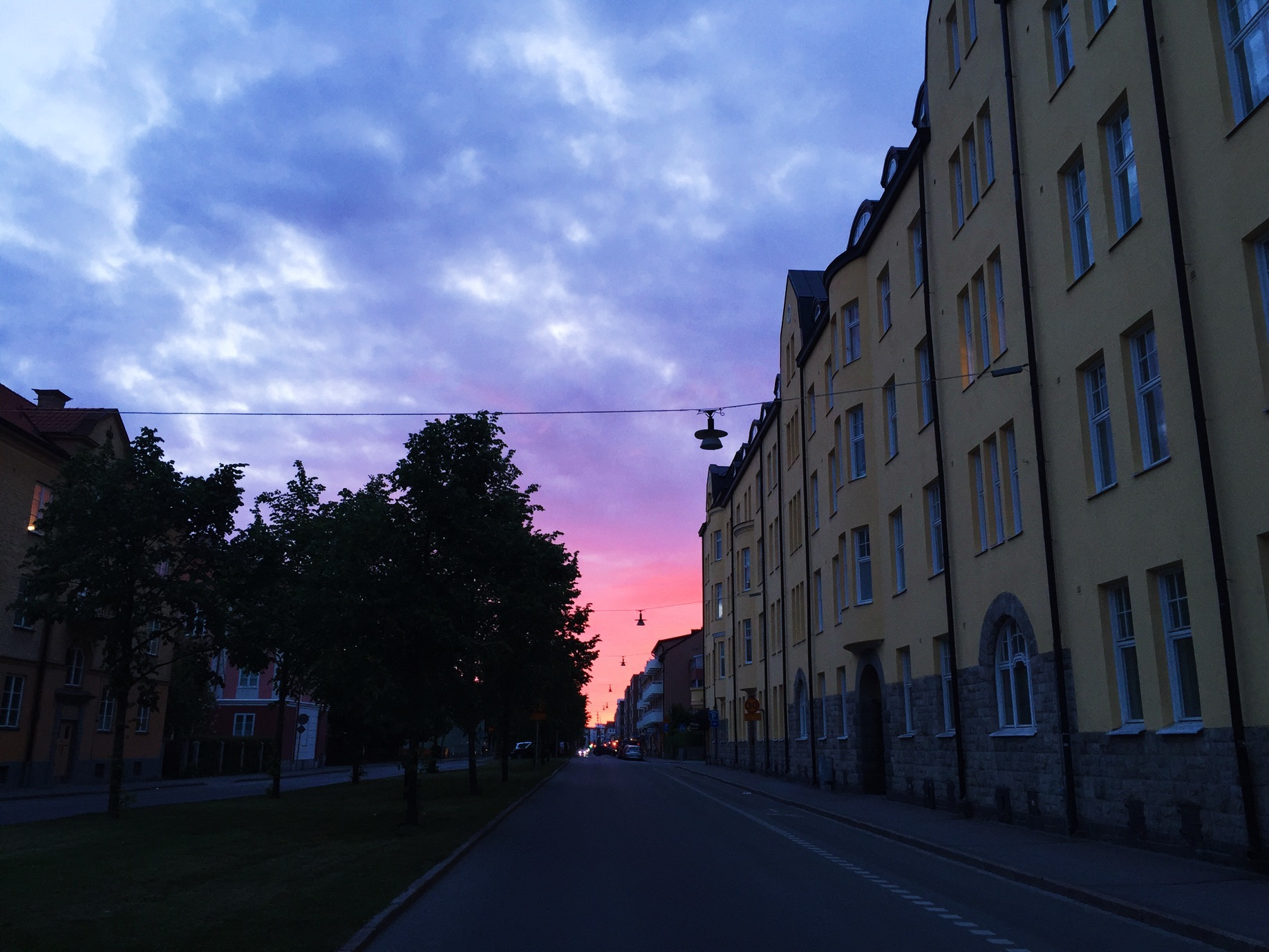 sunset uppsala