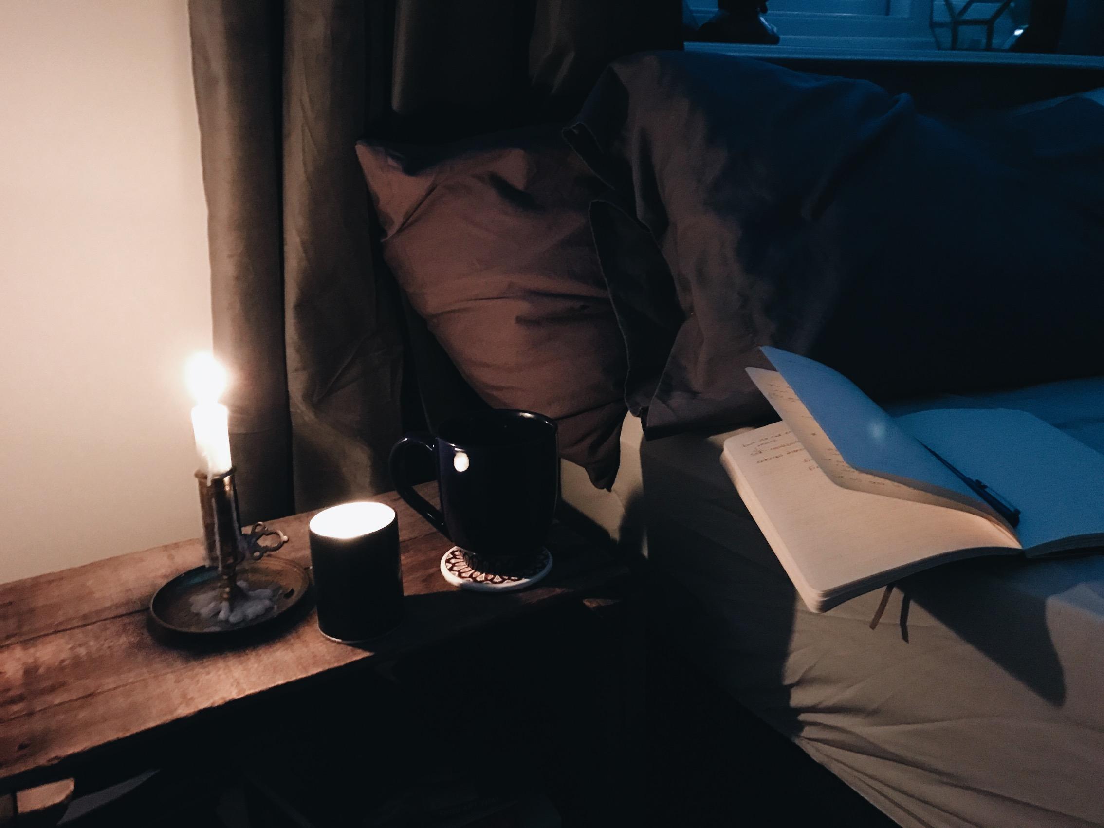 meditation cozy