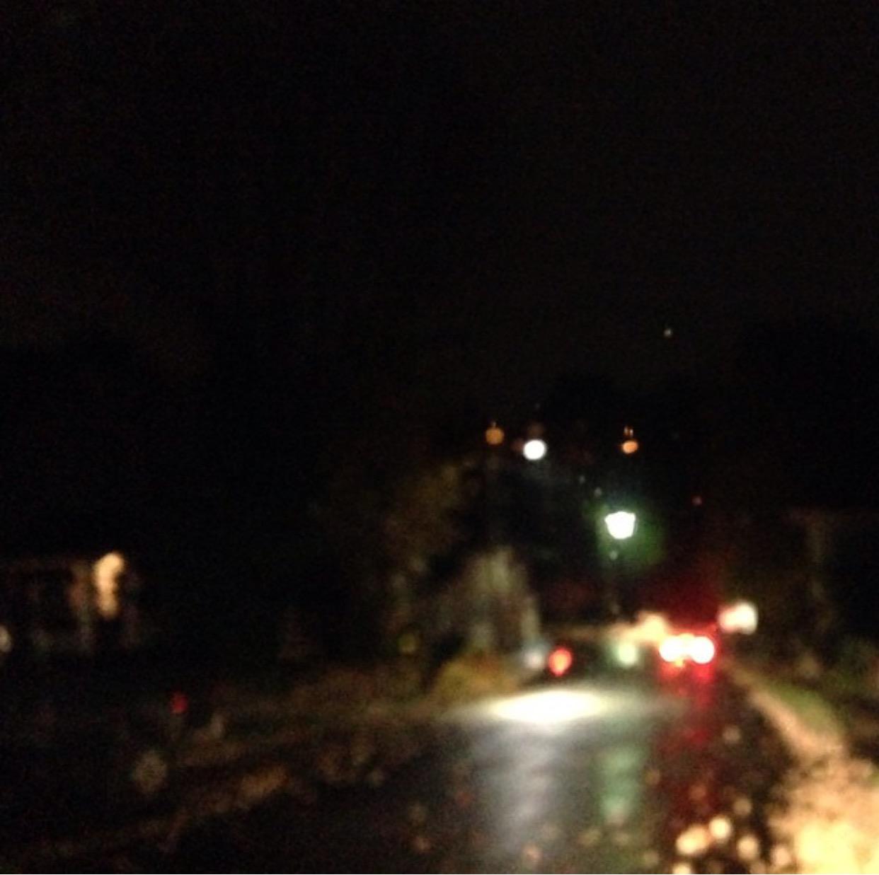 street asheville night