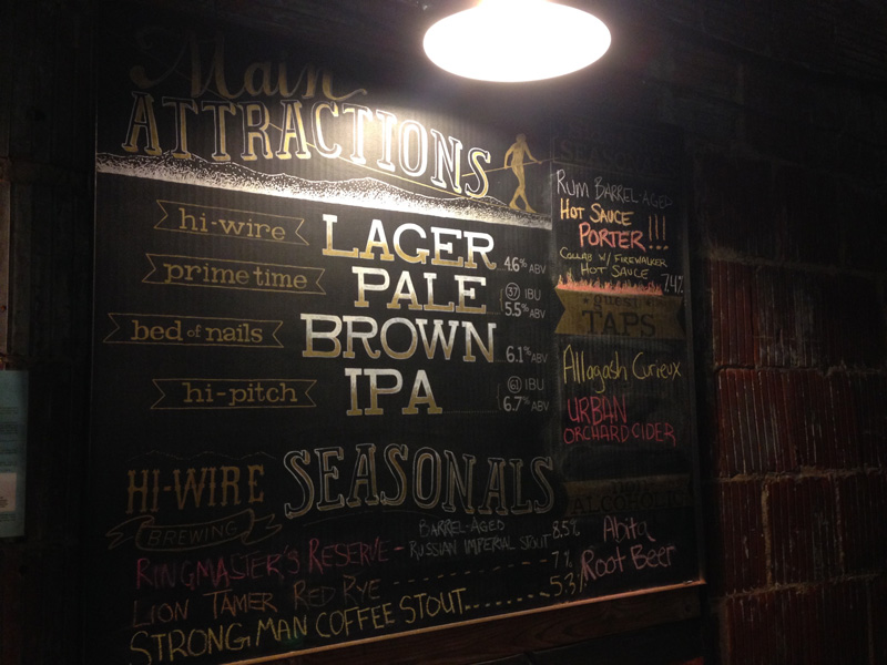 hiwire-beer-on-tap