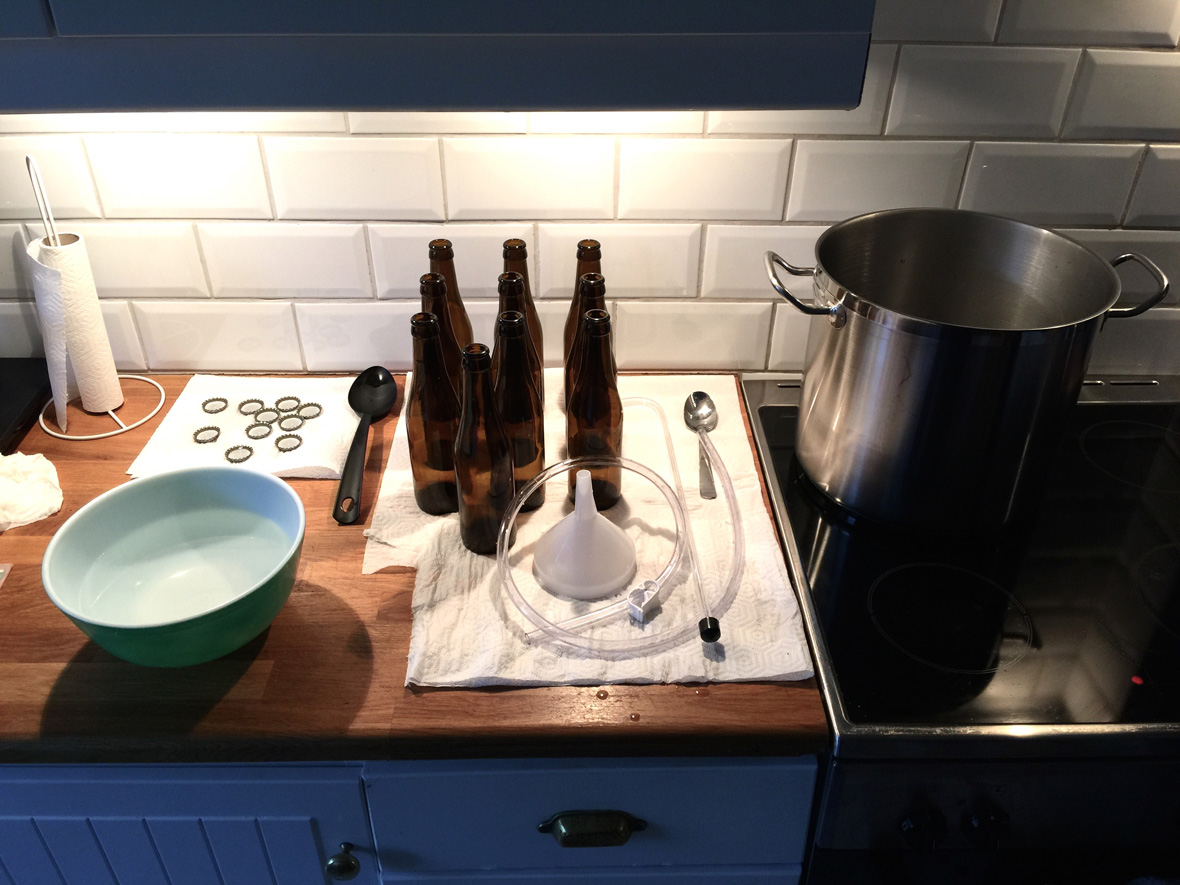 sanitized-beer-home-brewing