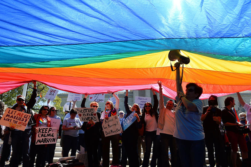 Supreme Court Hears Arguments In Historic Marriage Equality Case