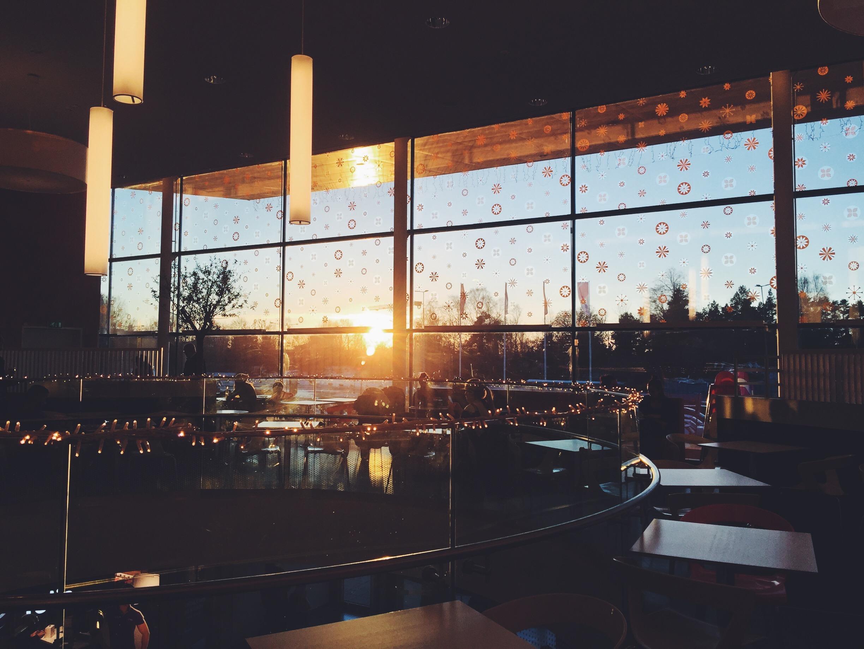 sunset work