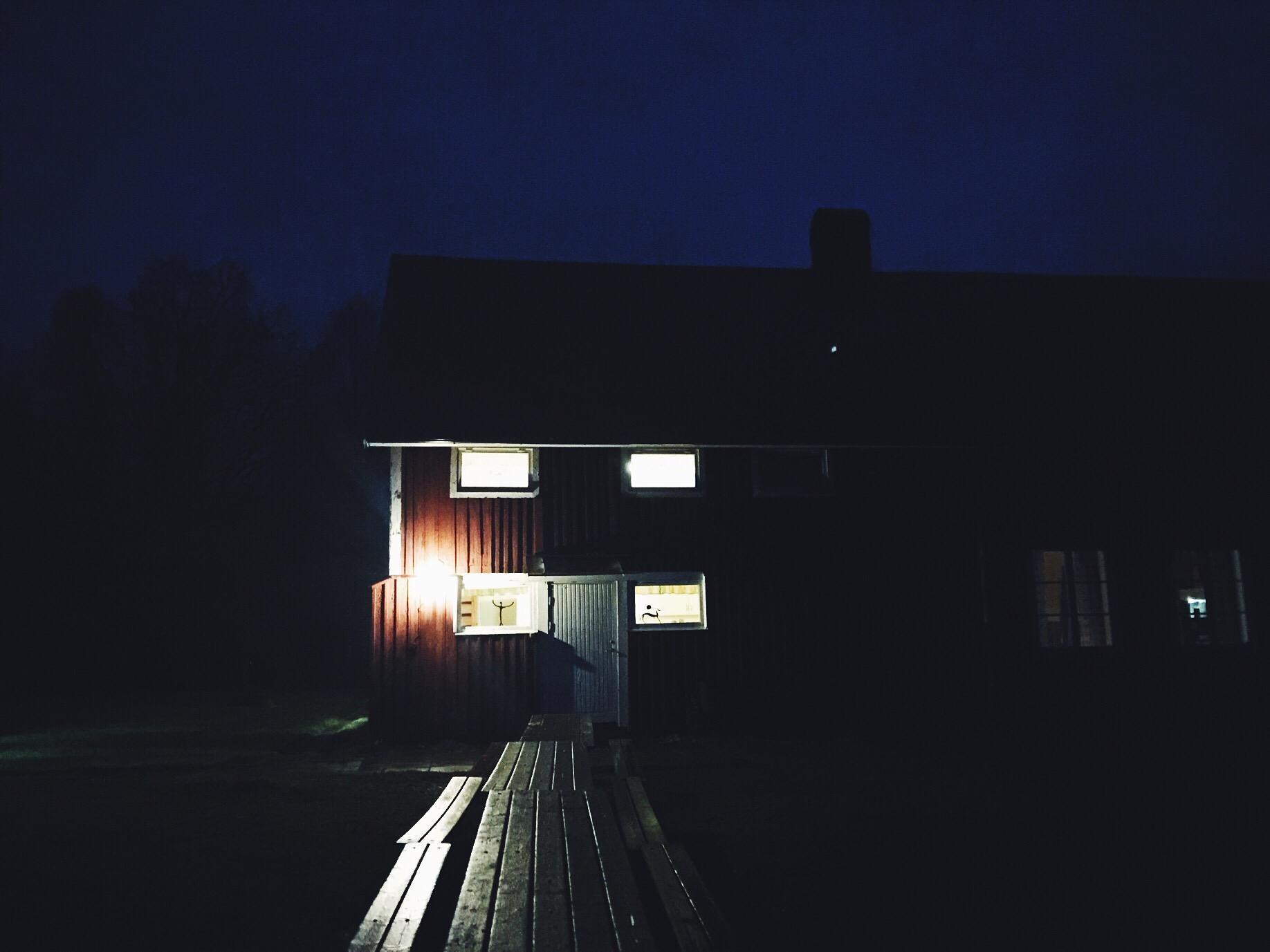 life coach cottage morning dark