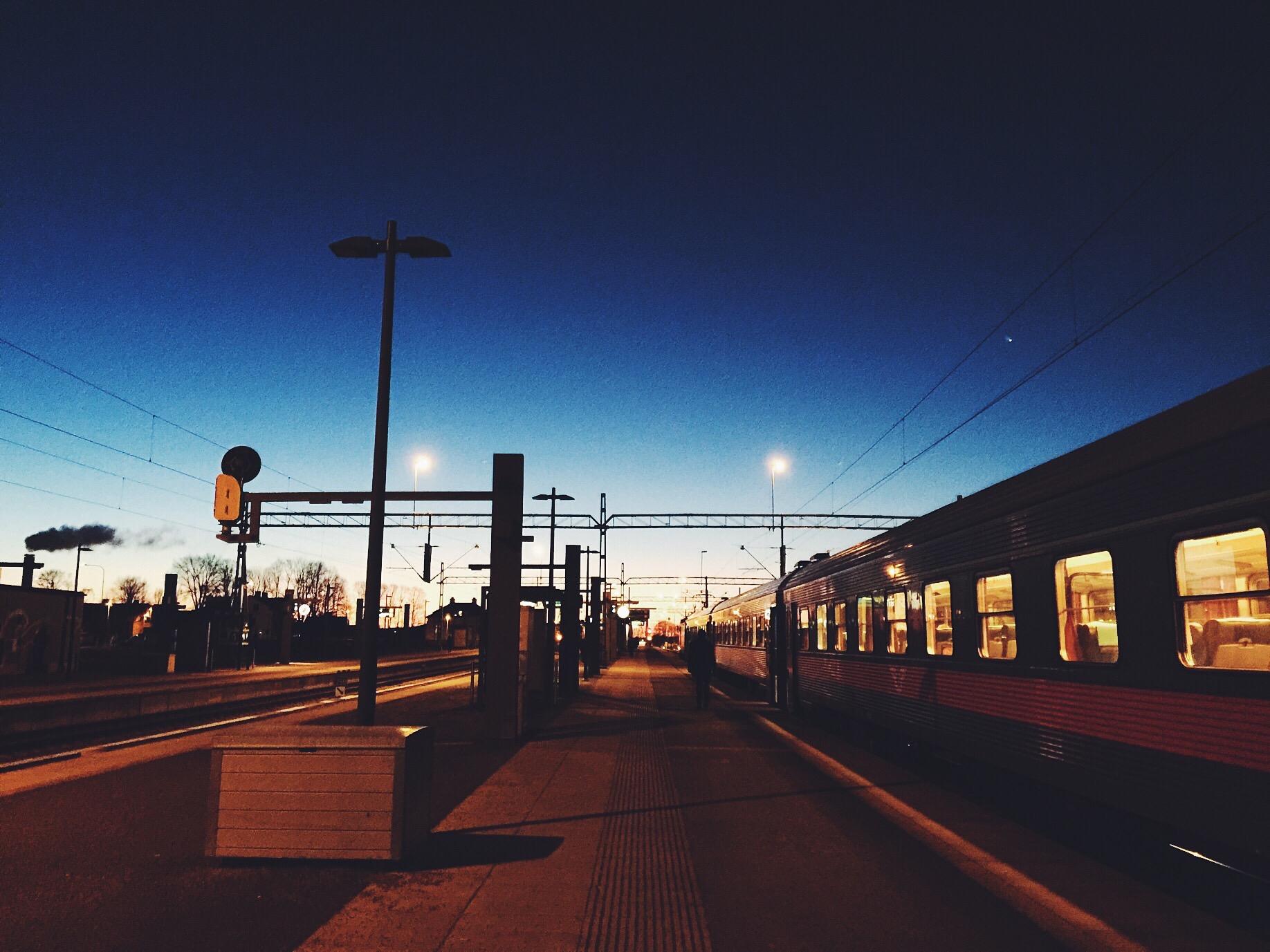 uppsala morning train