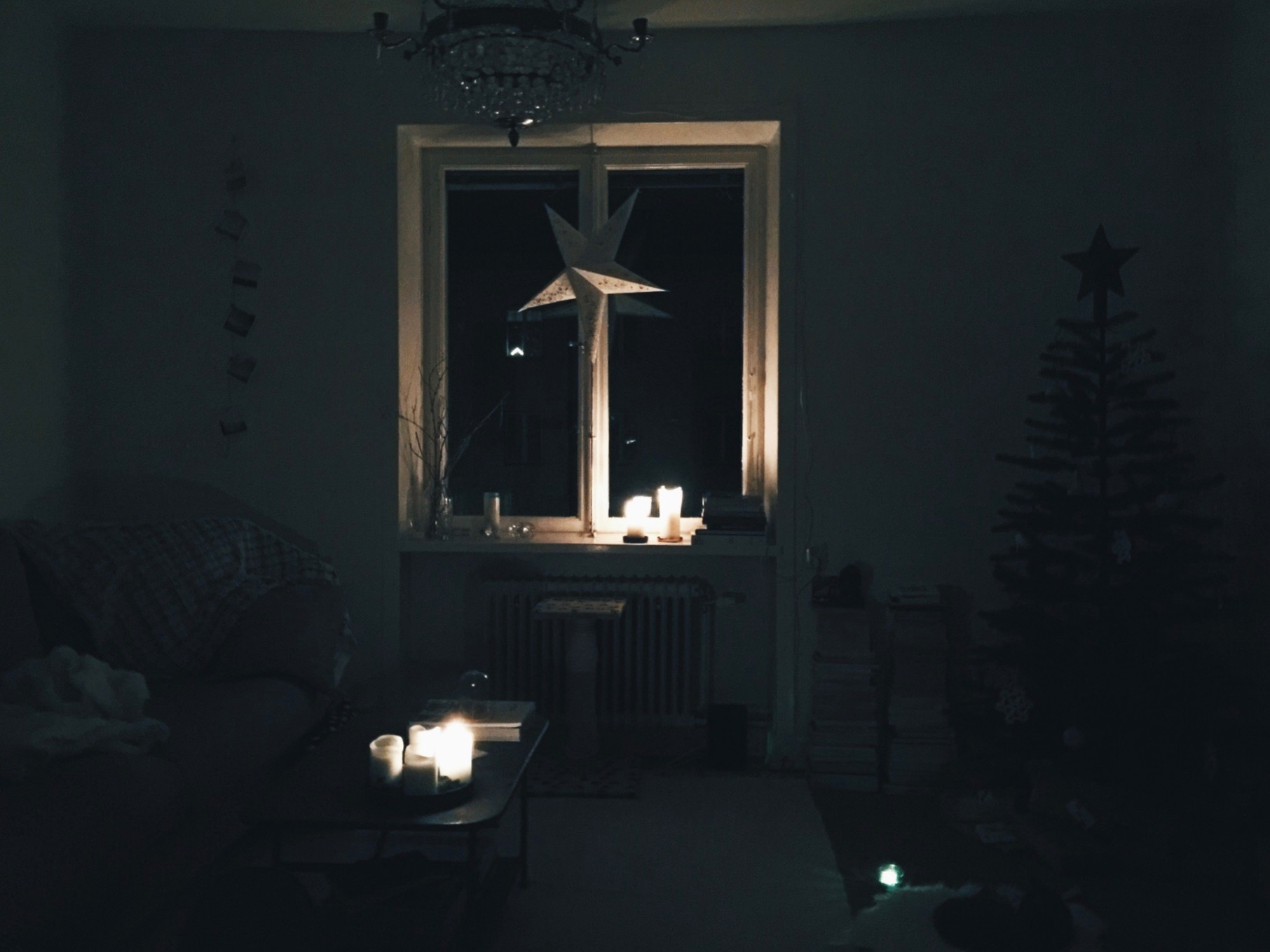 solstice meditation darkness home