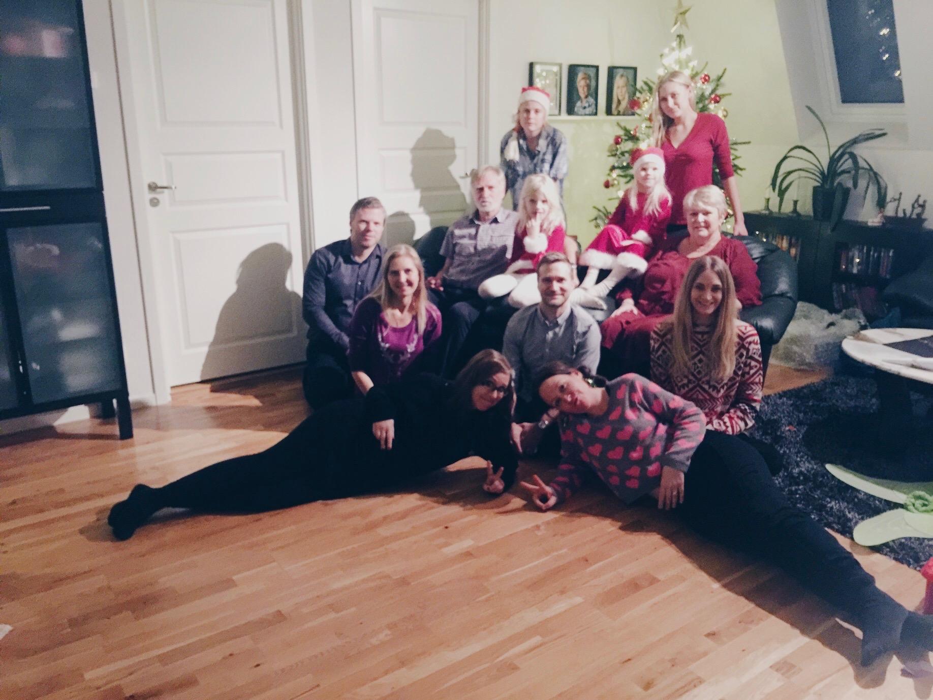 christmas sweden family