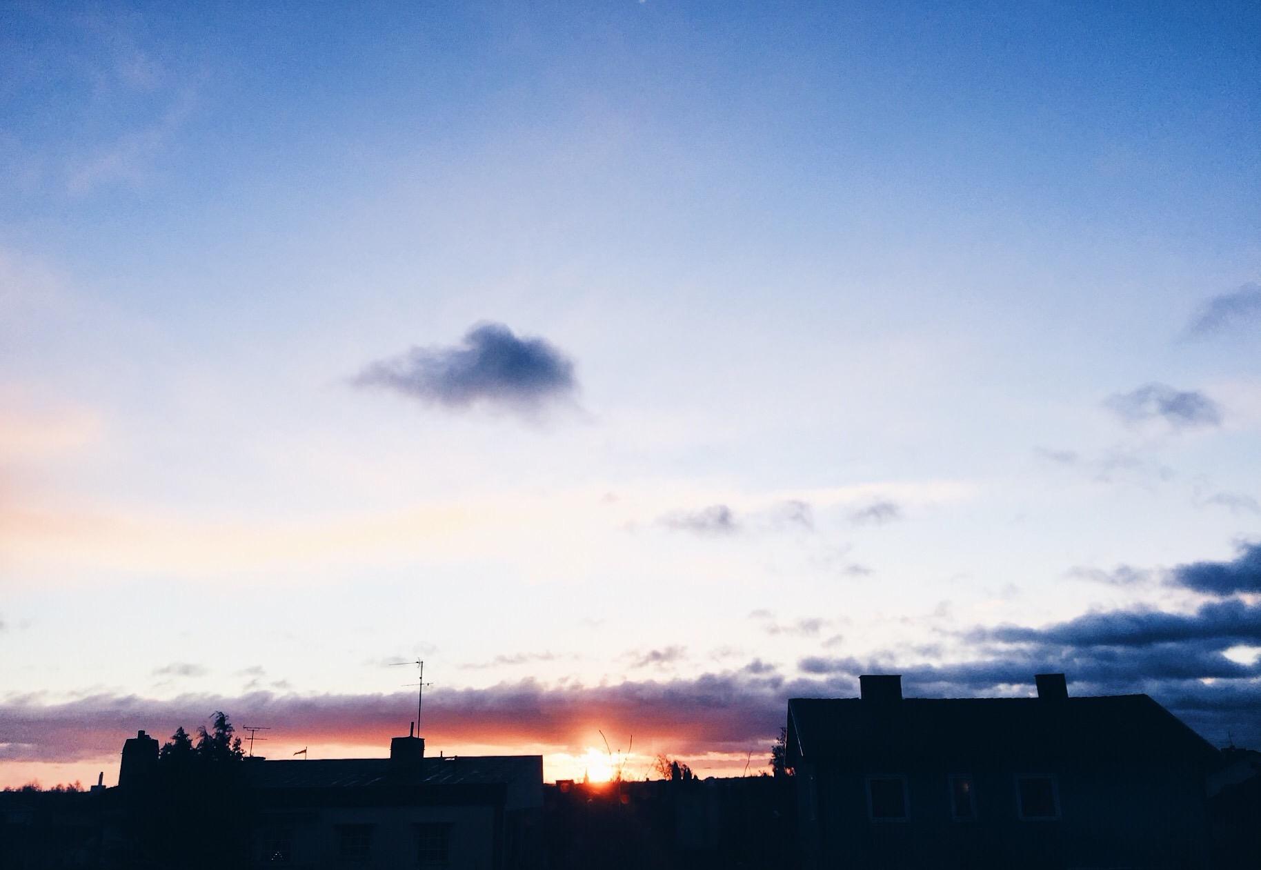 christmas day sunrise