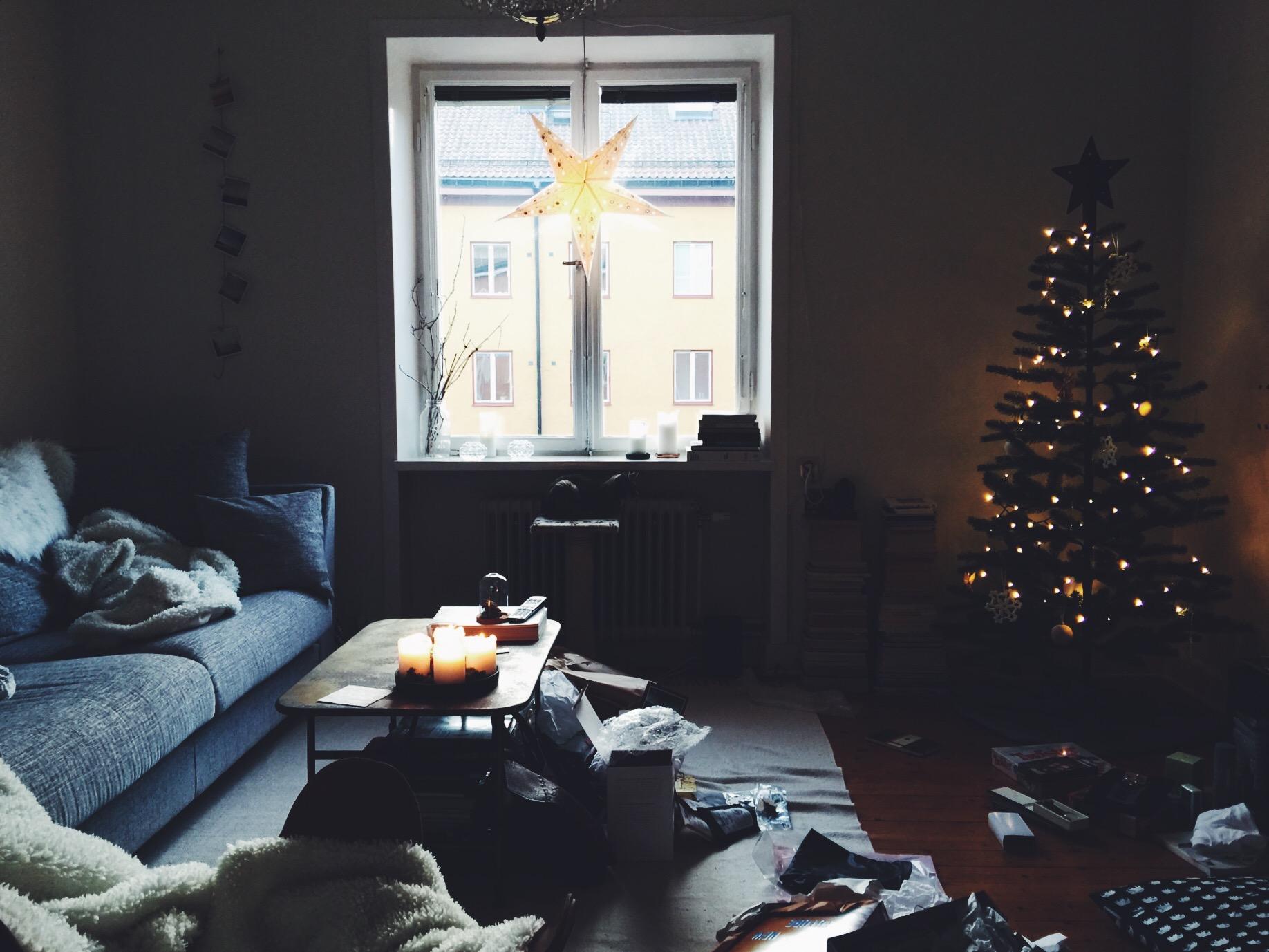 home christmas living room