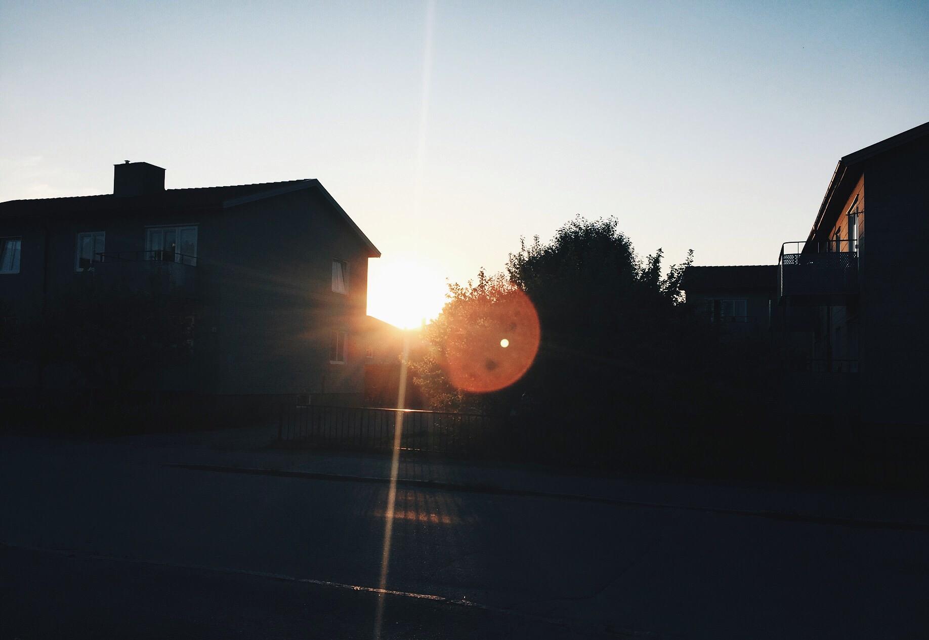 sunset home uppsala