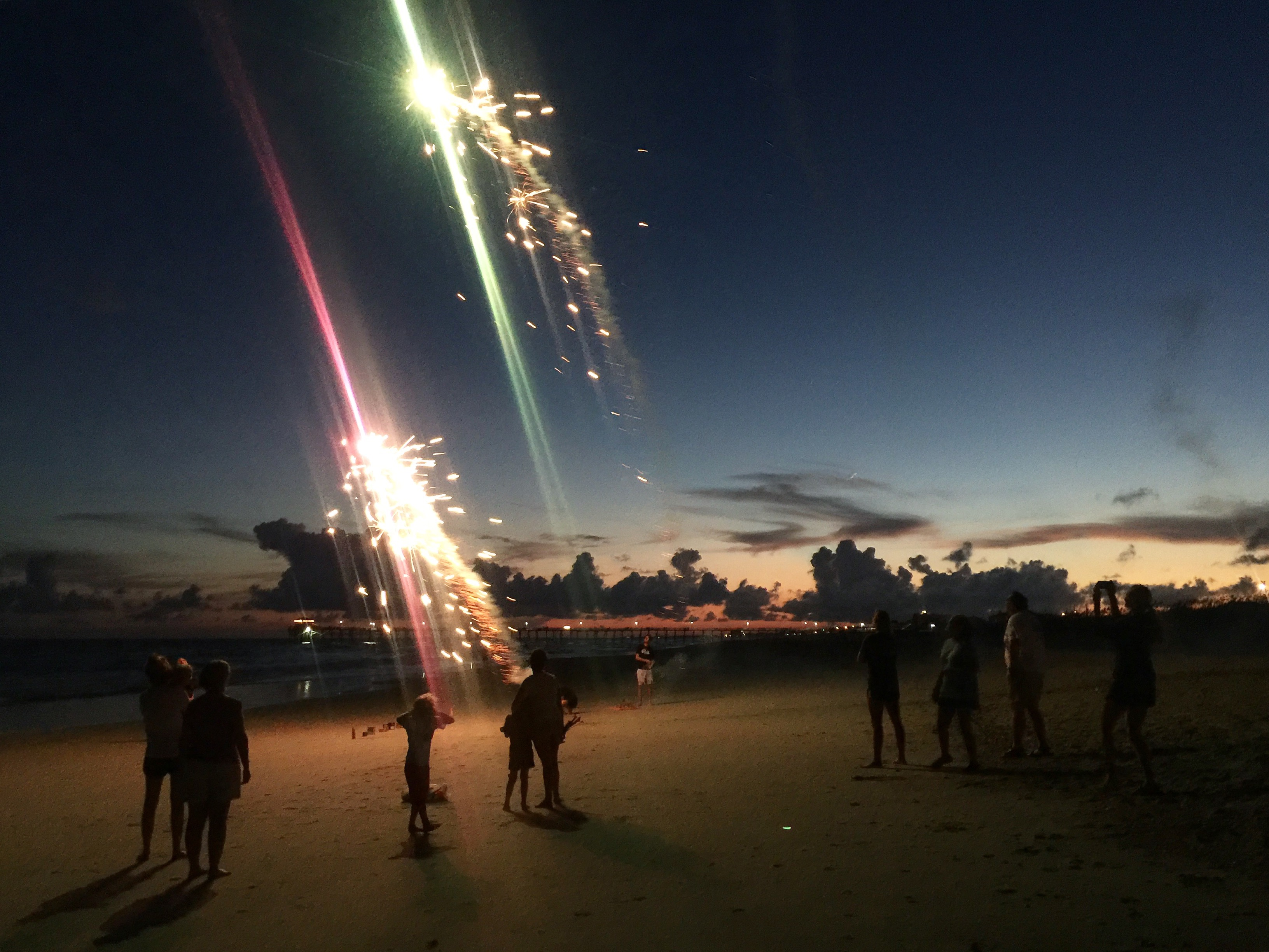 atlantic beach family fireworks