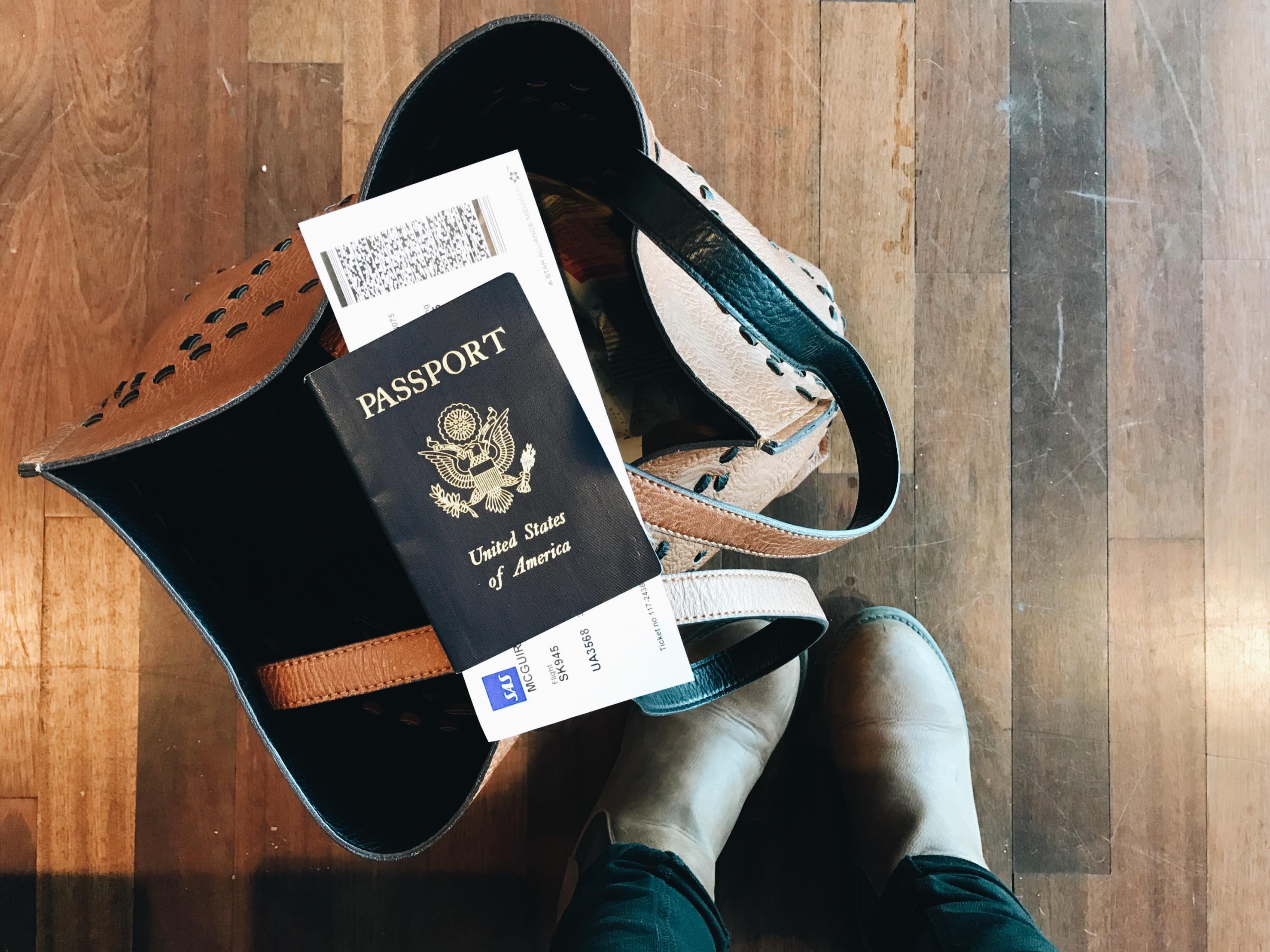 me travel bag passport